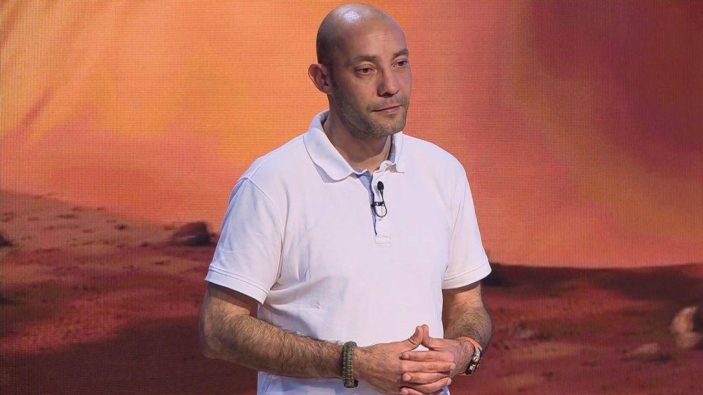 """Ángel es uno de los 24 elegidos para colonizar Marte: """"Dejar a mi hija me da rabia pero me voy tranquilo"""""""