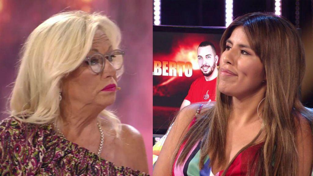 ¡Momento histórico! Mayte Zaldívar e Isa Pantoja, cara a cara por primera vez