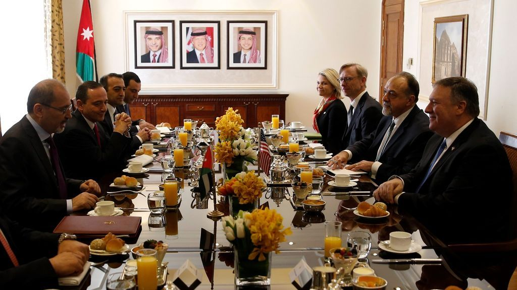Encuentro entre Estados Unidos y Jordania