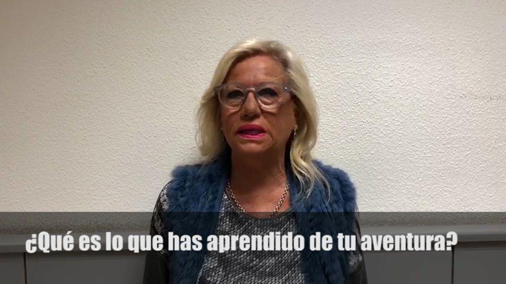 "Mayte Zaldívar: ""Me he demostrado a mí misma que tengo mucho aguante"""