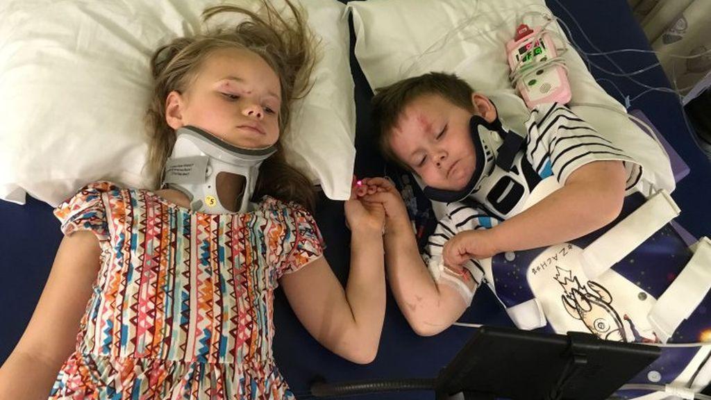 Dos hermanos se reencuentran en el hospital tras sufrir un accidente que les deja huérfanos