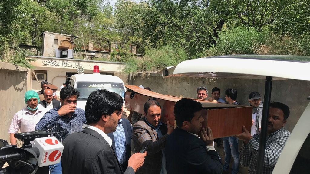 Muere un periodista afgano en un doble atentado en Kabul