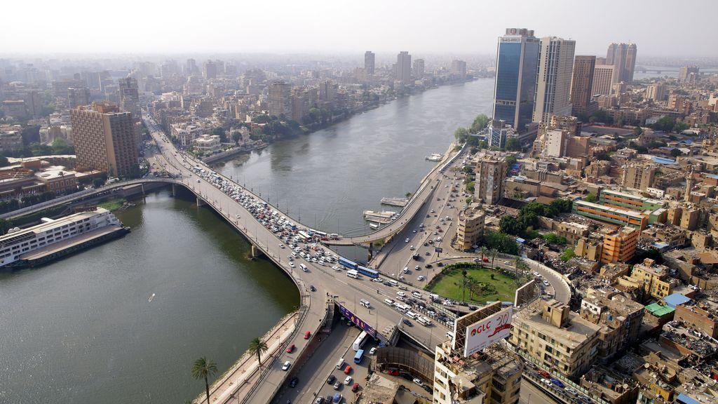 El Cairo a vista de pájaro