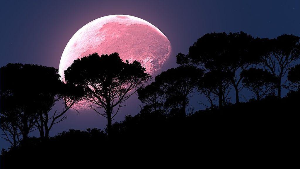 La 'luna rosa': el fenómeno que se podrá observar esta noche