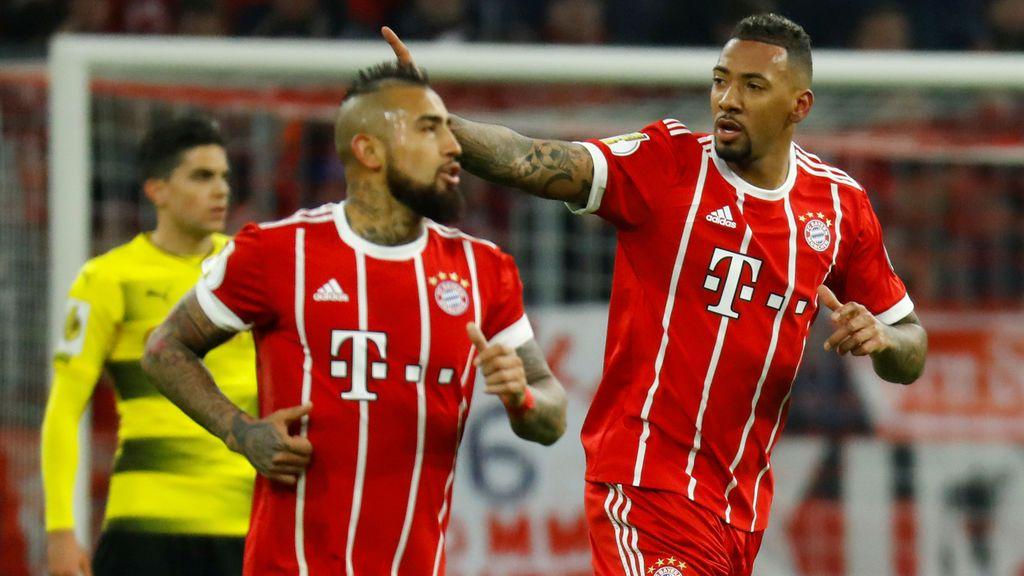 """Vidal y Boateng cargan contra el Real Madrid y el árbitro tras la eliminación del Bayern: """"Ratooones"""""""