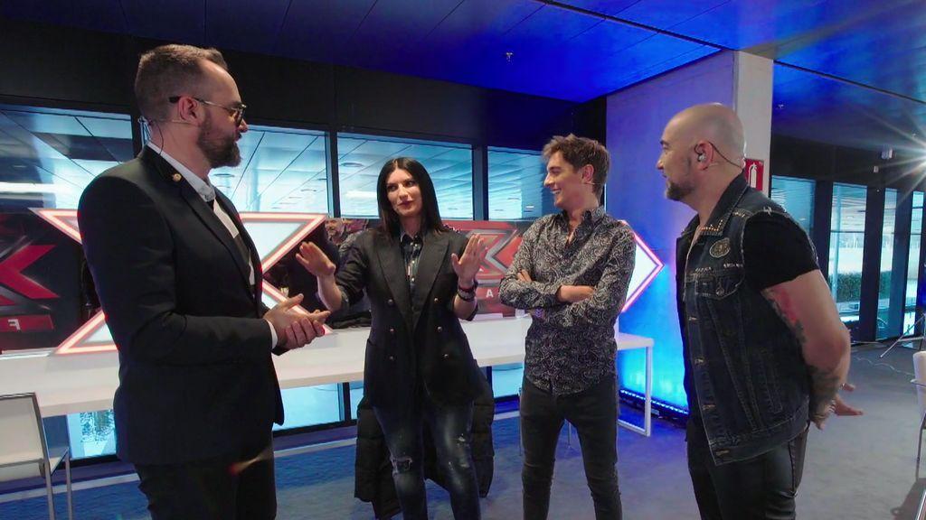 ¡Pausinízate! Risto Mejide propone a Laura Pausini como estilista del programa