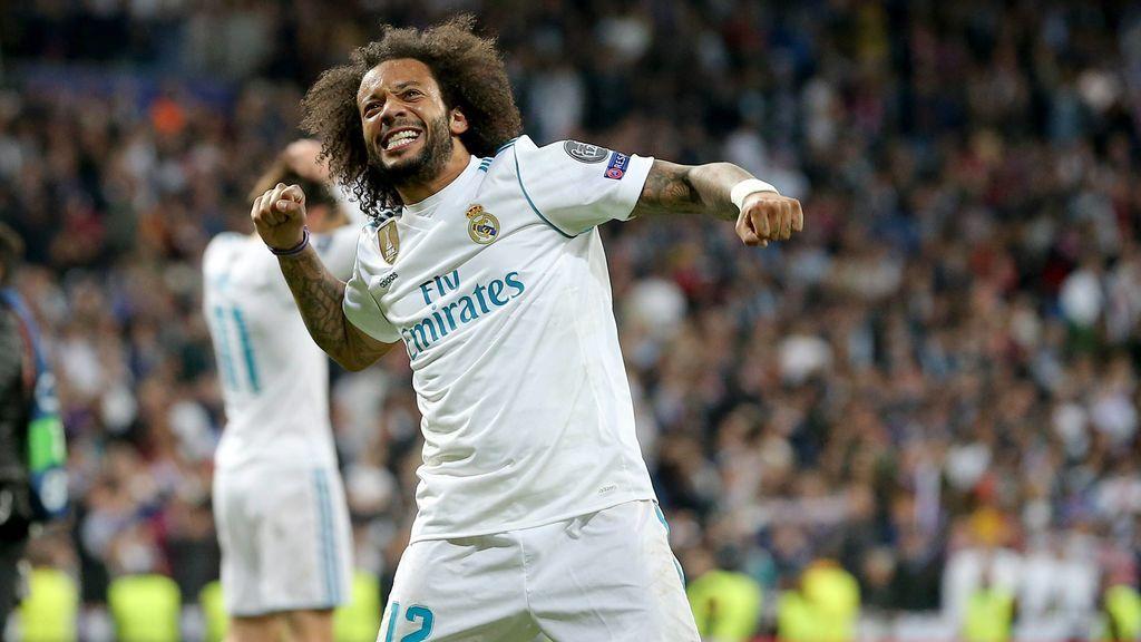 """Marcelo, sobre el penalti reclamado: """"Me pega en la mano; si digo que no, soy un mentiroso"""""""