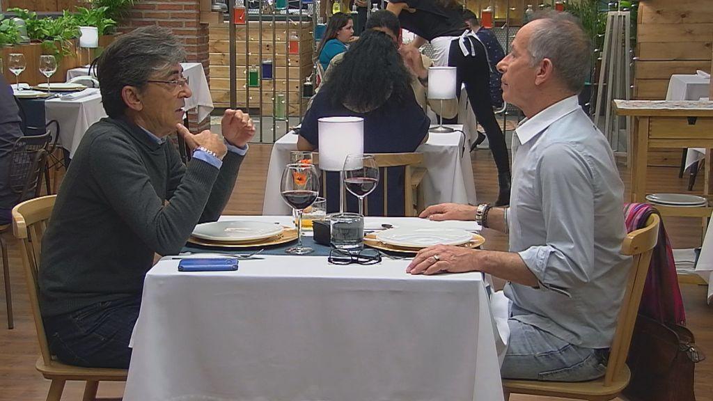Juan Luis y José, en el especial terceras oportunidades de 'First dates'.