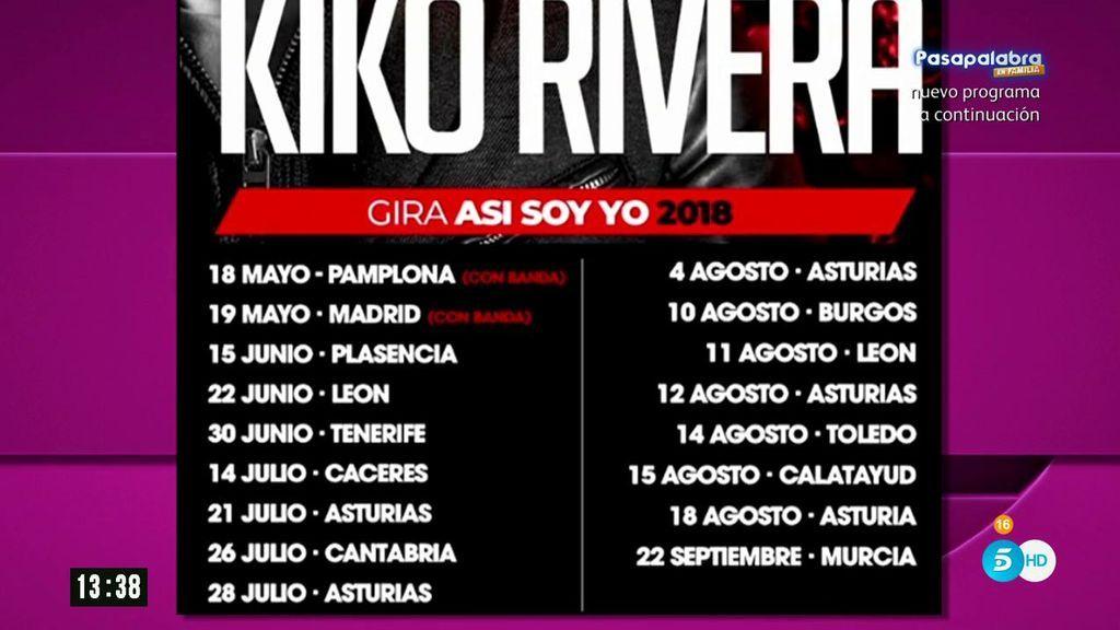 Kiko Rivera suspende su gira