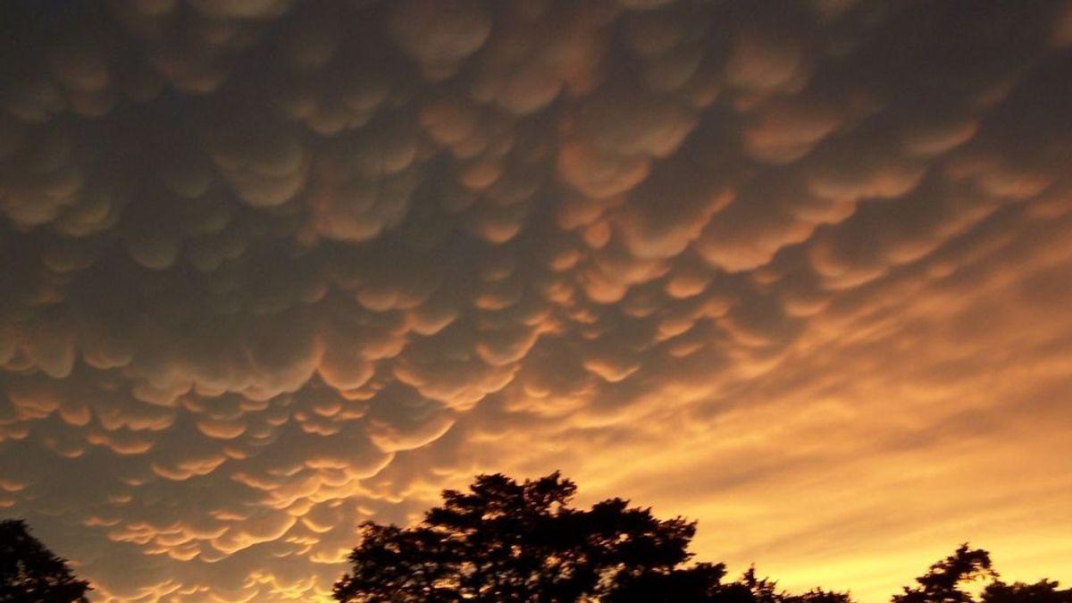 #mammatus: las nubes mastodónticas propias de esta época ya están aquí