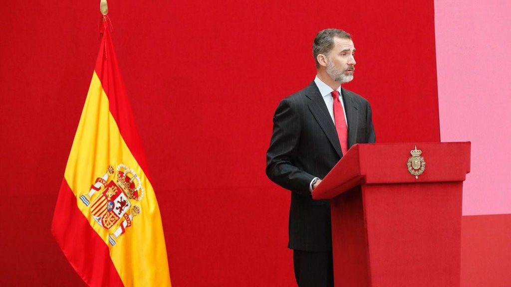 """El Rey afirma que el ADN de España como """"nación plural y diversa"""" debe caminar en una """"misma dirección"""""""