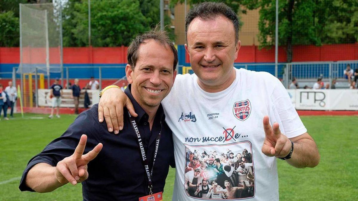 Asombroso: El Virtus Verona asciende a la Serie C italiana con el mismo entrenador… ¡desde 1982!