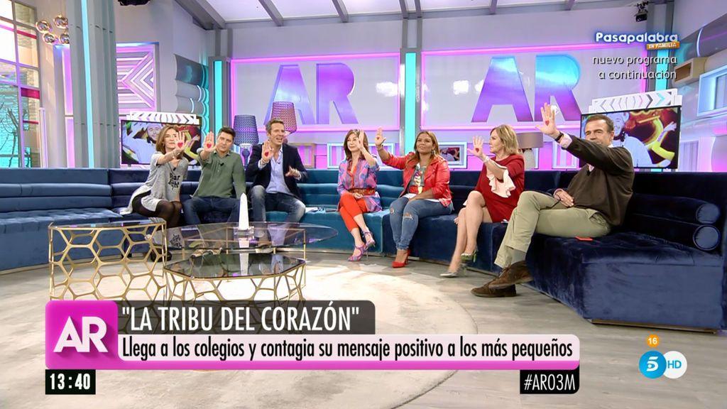 """Joaquín Prat: """"'La tribu del corazón' aterriza en los colegios con su mensaje positivo y saludable"""""""
