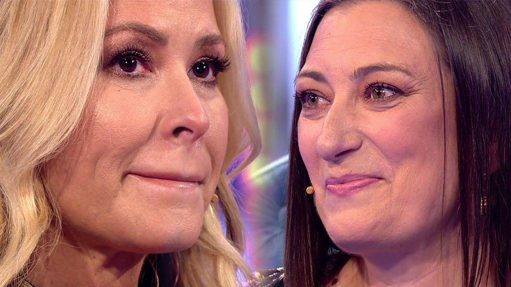 """Anastacia llora de emoción al conocer la historia de Belén: """"Estoy muy orgullosa de ti"""""""