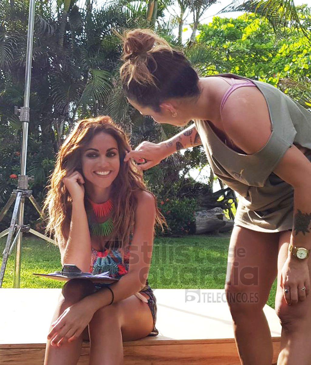 Lara Álvarez, su Make Up & Hair