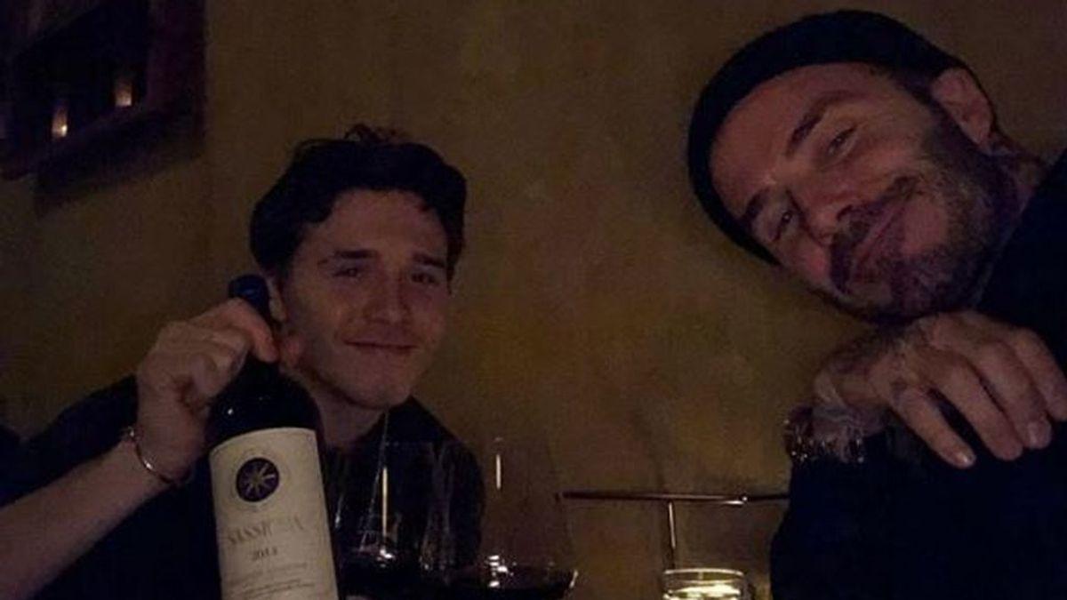"""""""¿Qué haces aquí?"""": La emoción de Beckham al recibir la mejor sorpresa en el día de su cumpleaños"""
