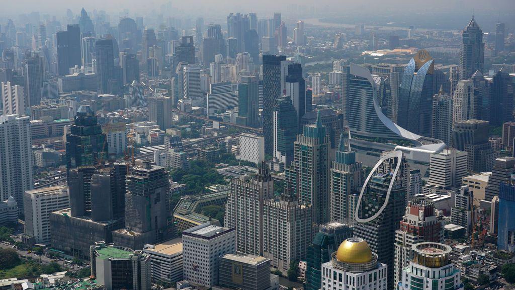 Bangkok a vista de pájaro