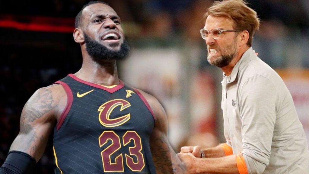 LeBron James de los Cleveland Cavaliers tiene una cita con la final de la 'Champions League'
