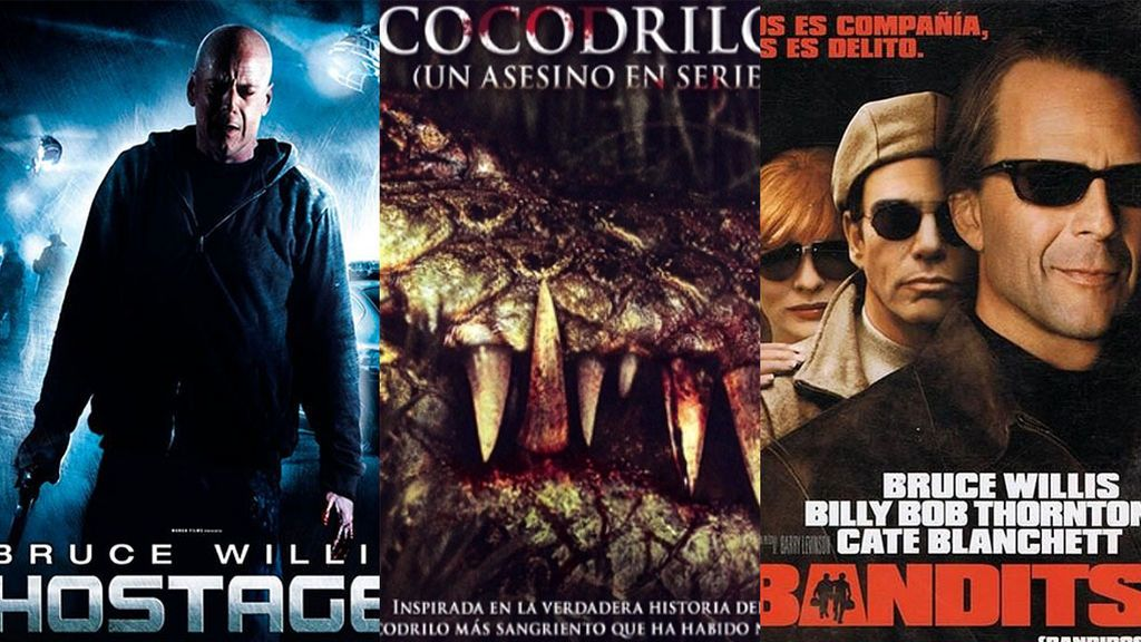 'Cocodrilo, un asesino en serie', 'Hostage' y 'Bandits', el lunes en BeMad Movies