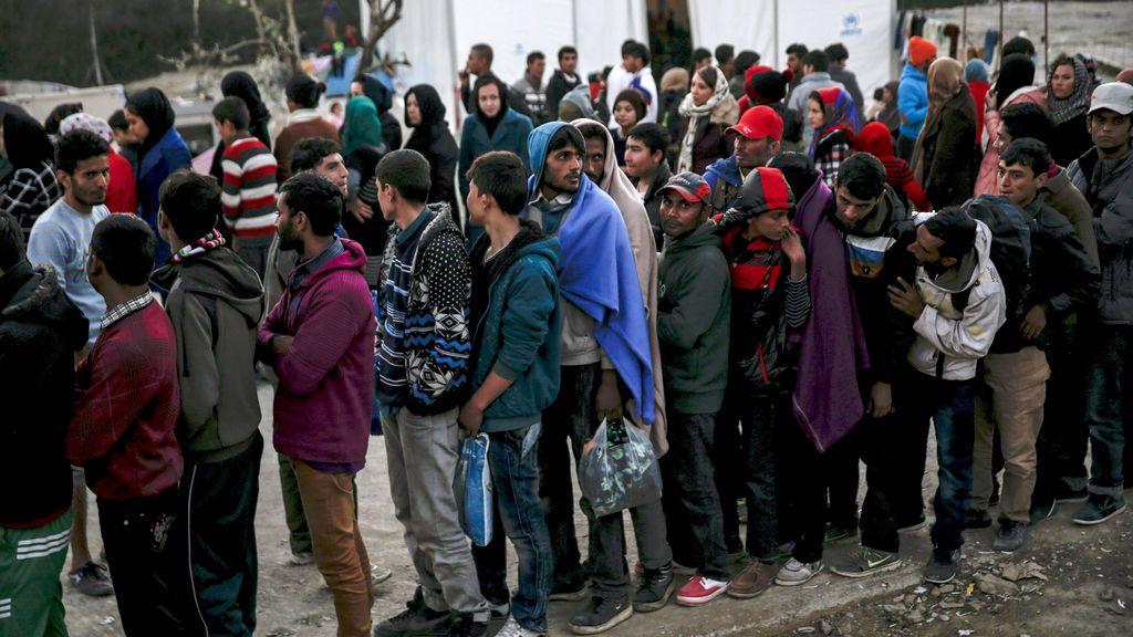 """La situación de los refugiados en Lesbos se acerca a un """"punto de no retorno"""""""