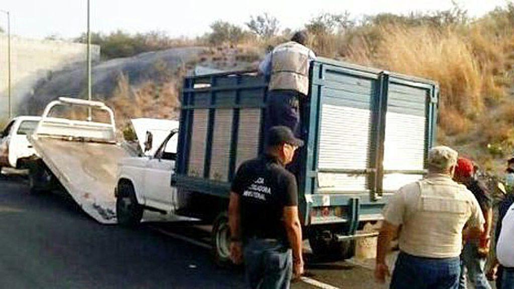 Hallados nueve cuerpos sin vida en una camioneta del estado mexicano de Guerrero