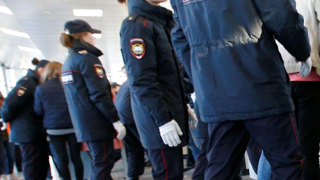La Policía rusa mata a tiros a un individuo que atacó a varios agentes en un control