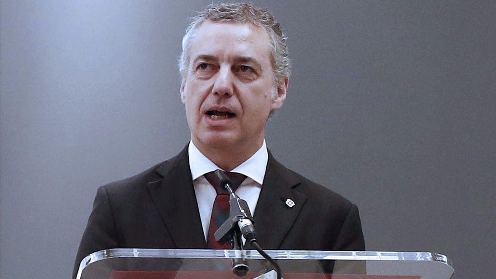 """Urkullu llama a """"honrar"""" la memoria de las víctimas y a trabajar por la convivencia tras la desaparición de ETA"""