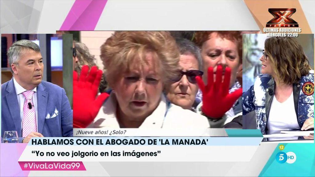 El enfado de Toñi Moreno con el abogado de 'La Manada'