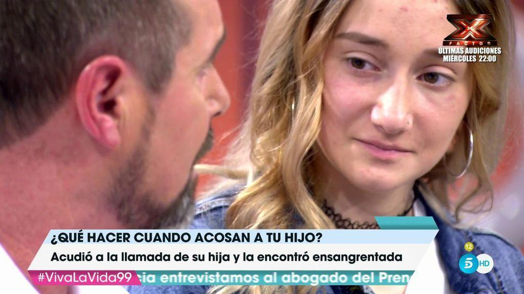 """Lorenzo acudió a la llamada de su hija: """"La encontré ensagrentanda, ni siquiera la reconocía"""""""