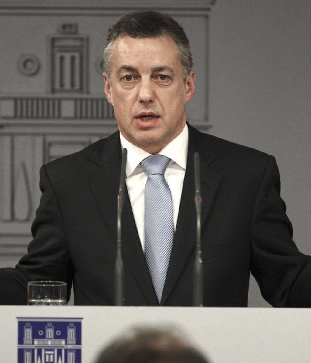 """Urkullu cree que ETA ha dejado a la izquierda abertzale """"la tarea de asumir el daño causado"""""""