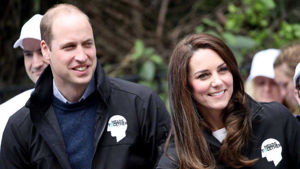 Las primeras y adorables imágenes del tercer hijo de Kate Middleton y el Príncipe William