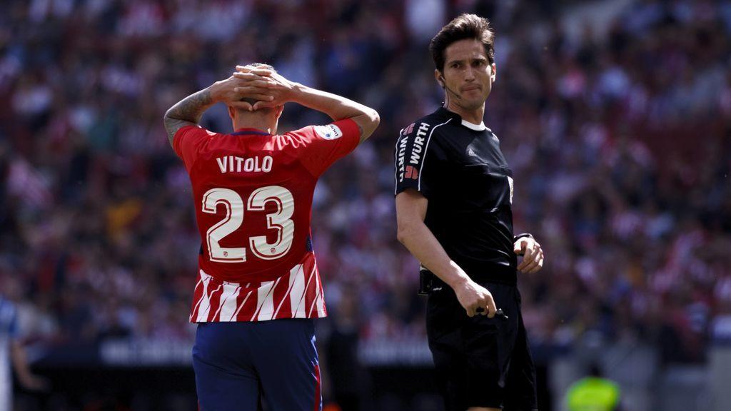El Atlético de Madrid se olvida de la Liga y piensa en Lyon (0-2)