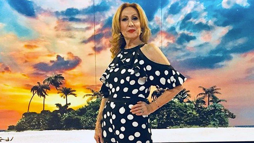 Rosa Benito celebra el día de la madre con una foto jovencísima y embarazada