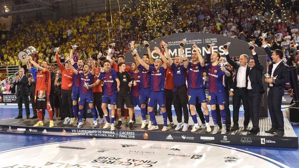 El Barcelona Lassa gana su quinta Copa del Rey consecutiva