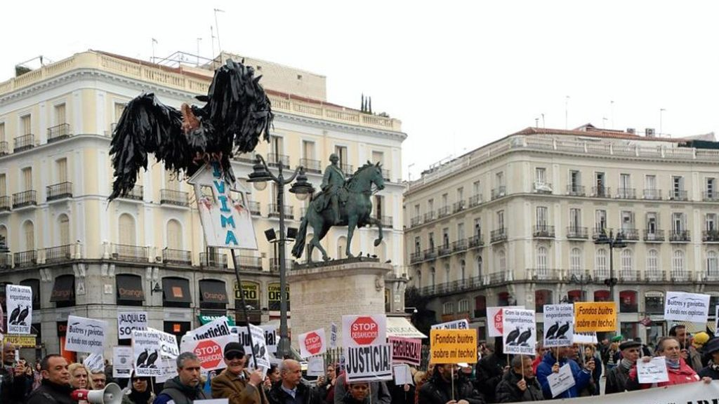Los fondos buitre controlan casi el 10,5% de las grandes empresas españolas