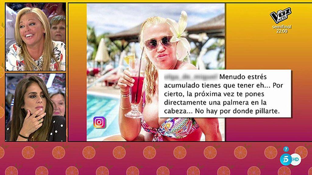 Belén Esteban y Anabel Pantoja responden a sus haters en redes sociales