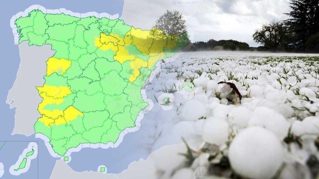 Mayo de granizo severo: te decimos dónde van a ser estas peligrosas tormentas