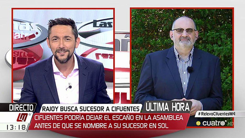 """Losada: """"El 2019 va a ser un festival del 'abrazo Mariano', no quedará nadie ni del 'Cifuentismo' ni del 'Esperanzaguirrismo"""""""
