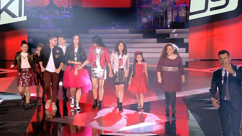 ¡Los tenemos! Estos son los 9 finalistas de 'La Voz Kids'