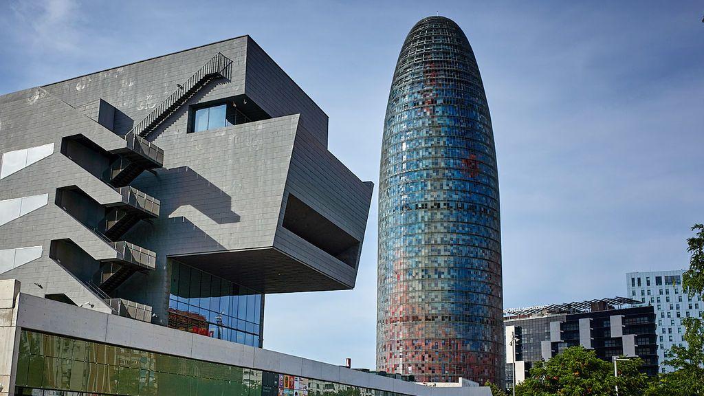 Torre Glòries de Barcelona.