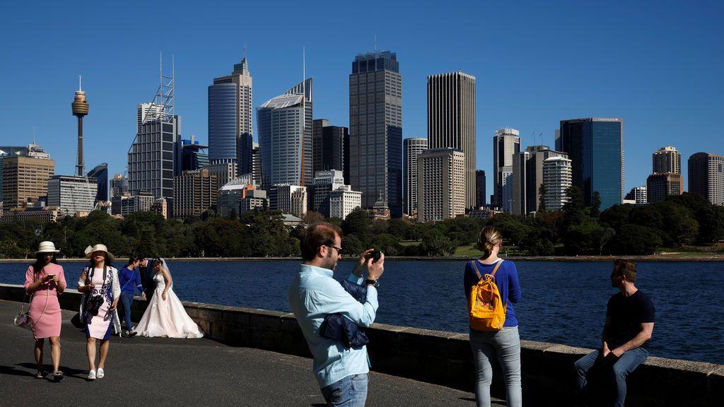 Imagen cotidiana en Sidney