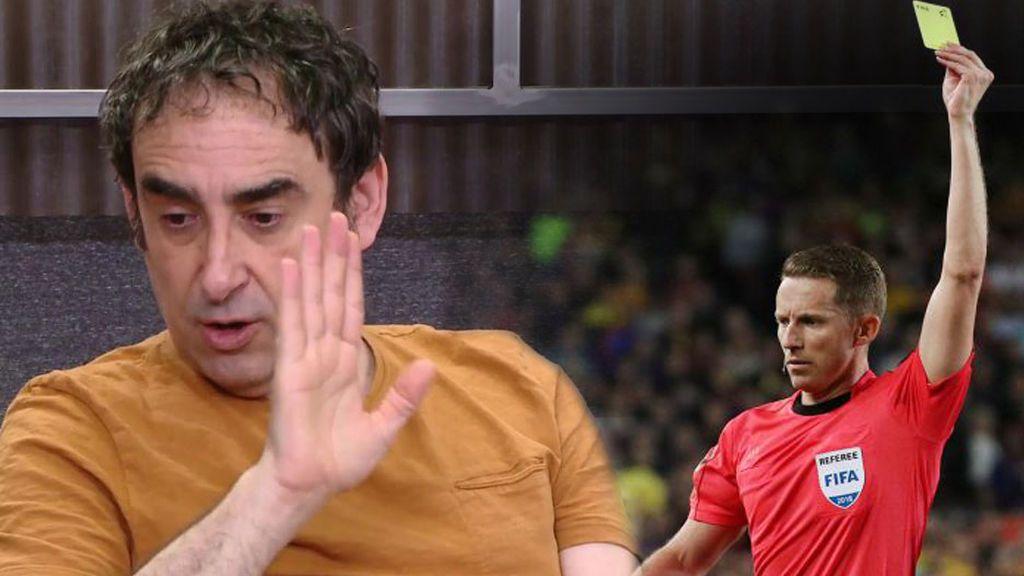 Ni el penalti de Jordi Alba, ni la falta de Suárez, ni la patada de Bale: Iturralde señala el mayor error de Hernández Hernández