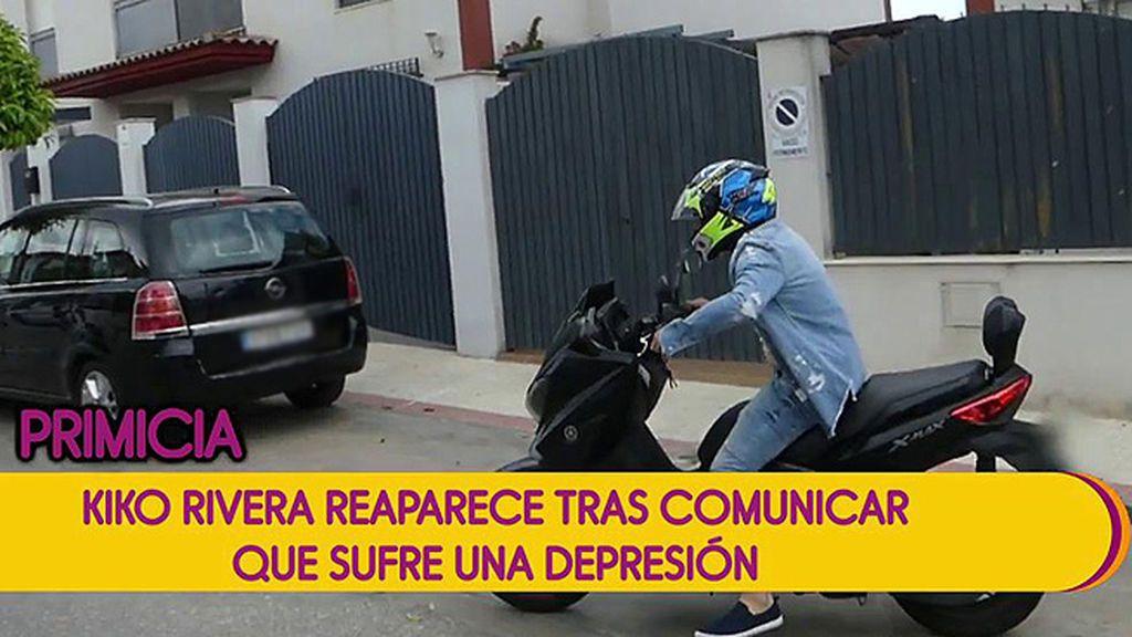 Primeras imágenes de Kiko Rivera desde que comunicara que sufre una depresión