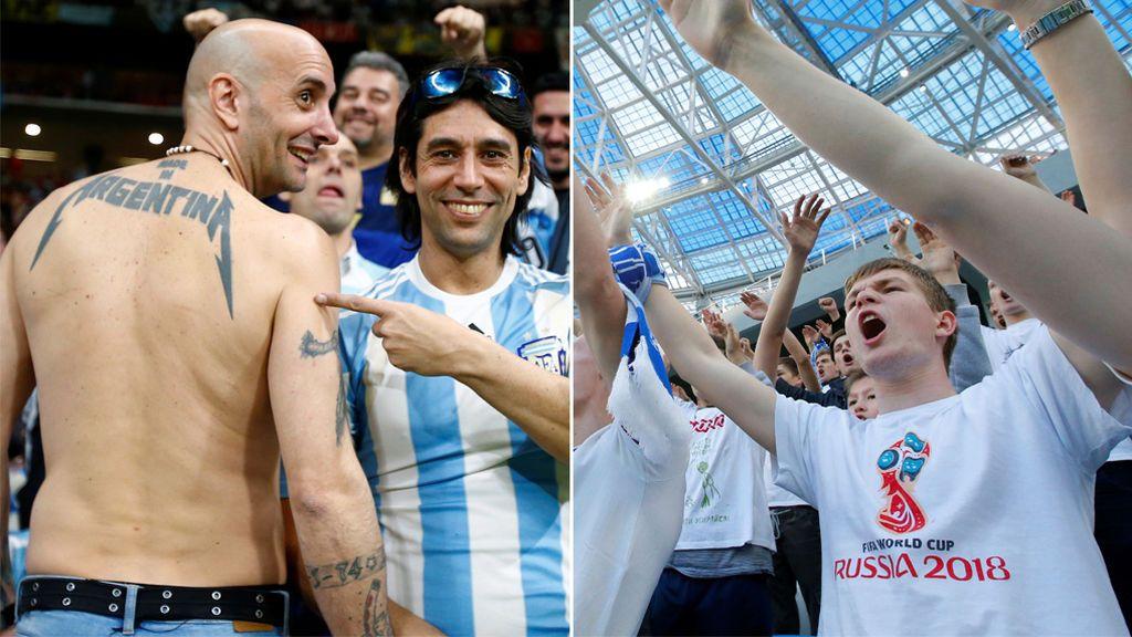 Argentina y Rusia firmarán un acuerdo para evitar la presencia de ultras en el Mundial