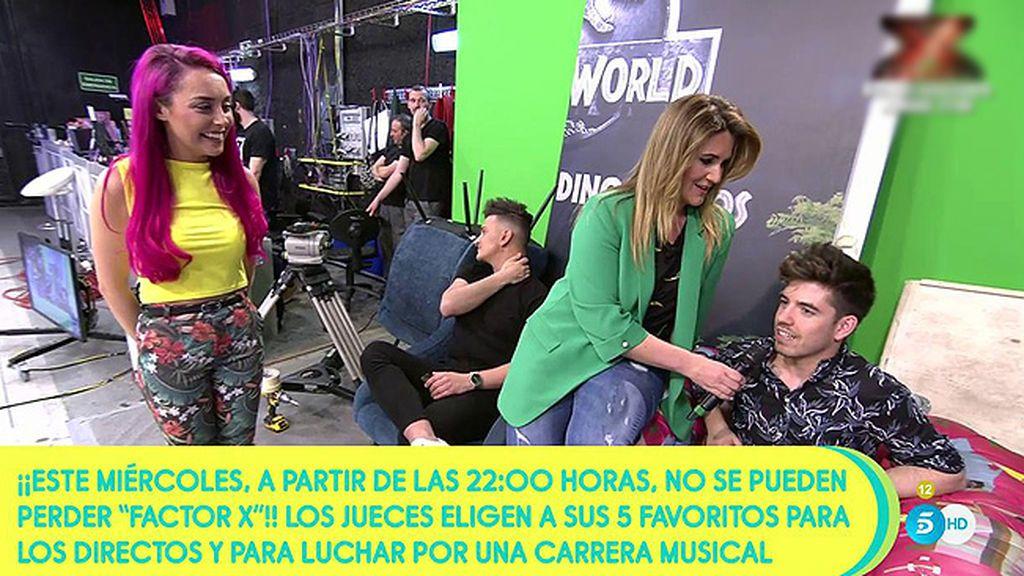 """Roi nos habla de su chica, Cris Lo: """"Tiene que ganar 'Factor X' porque es una artista muy completa y mejor persona"""""""