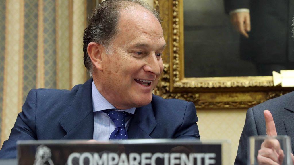 Jesús Sepúlveda en la comisión que investiga las cuentas del PP