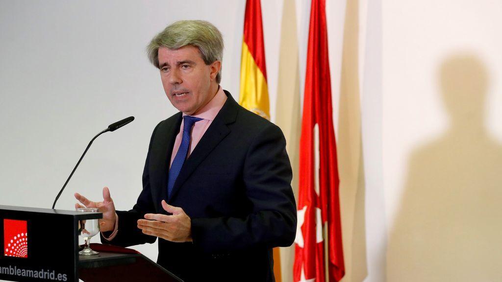 El nuevo presidente de la Comunidad Ángel Garrido descarta ser el candidato del PP en 2019