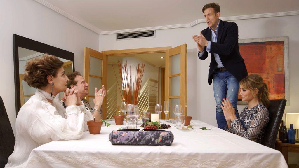 """""""Ten narices, no seas un cobarde"""", en 'Ven a cenar conmigo, gourmet edition'"""