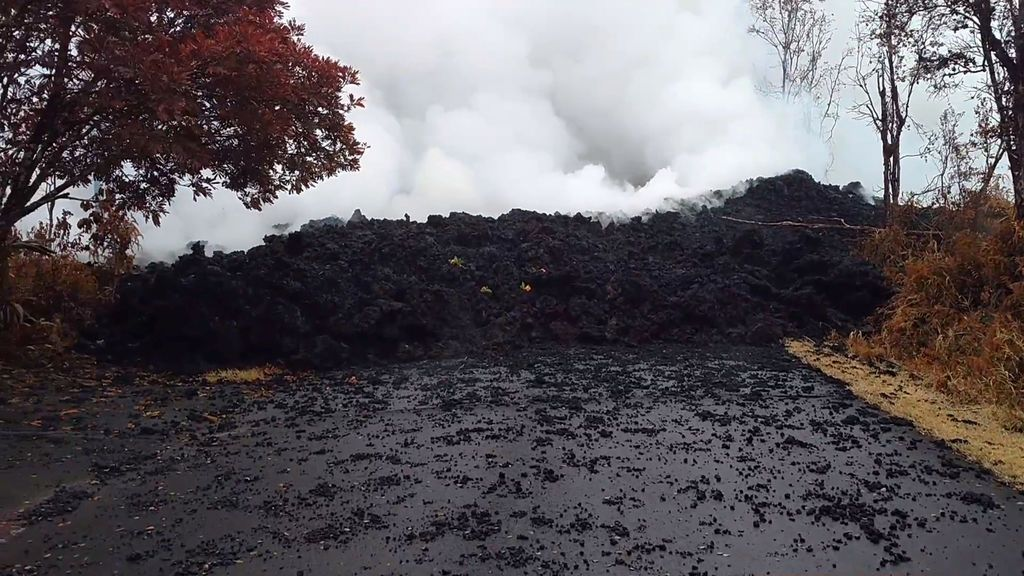 La lava del Kilauea devora Hawái