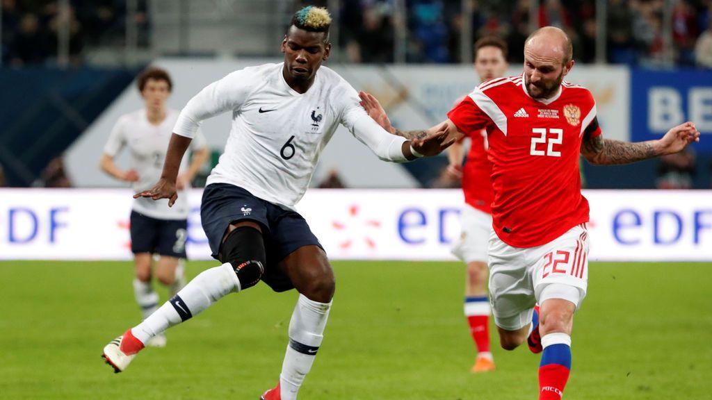 La FIFA multa a Rusia por cánticos racistas durante un amistoso con Francia